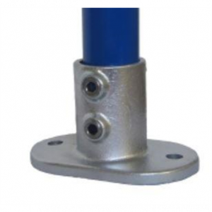 Railing Base Flange Clamp Fitting - 132D