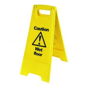 "Warning Wet Floor ""A"" Board"