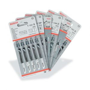 Bosch Jigsaw Blades - Flexible for Metal