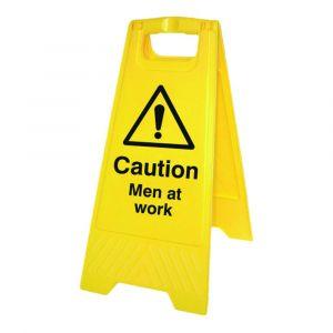 """Caution Men At Work """"A"""" Work"""