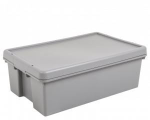 36L Heavy Duty Storage Box & Lid