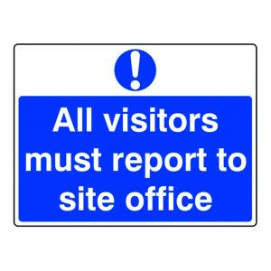 All visitor must report to site office