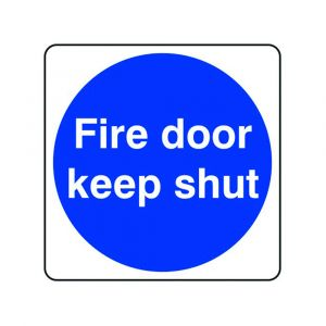 Fire Door Keep Shut Sign