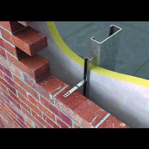 25 x 14mm Brick Tie Channel