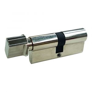 70mm Euro Cylinder - Key and Thumb