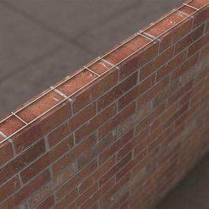 Stainless Steel Brick Reinforcement Ladder - Pack of 20