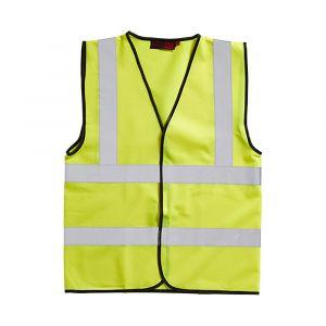 Hi-Vis Waistcoat Yellow Medium