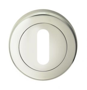 Standard Lock Profile Escutcheons - Polished Nickel