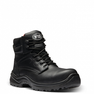 Otter Black Safety Boots