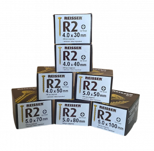 Reisser Trade Pack - 1400 Screws