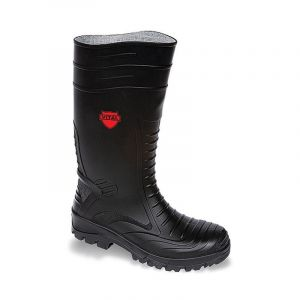 Black Safety Wellington Boots