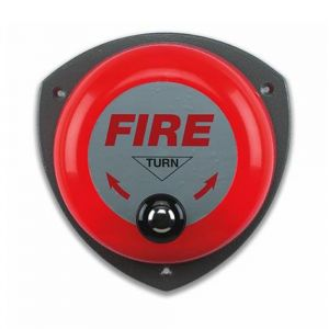 Rotary Hand Turn Fire Bell