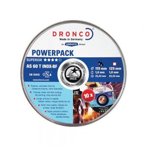 Dronco Thin Metal Cutting Disc - Tin of 10