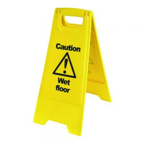 "Warning Wet Floor ""A"" Board"