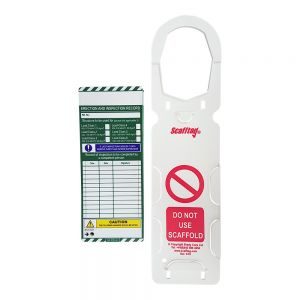 Scaffold Scafftag Kit