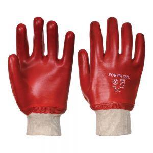 PVC Knitwrist Gloves