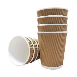 Disposable Paper Coffee Cups with Lids