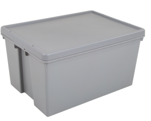62L Heavy Duty Storage Box & Lid