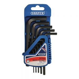 10 Piece Hex Key Set