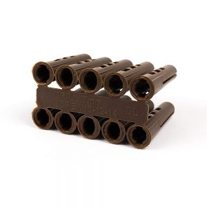 Brown Plastic Fixing Plug
