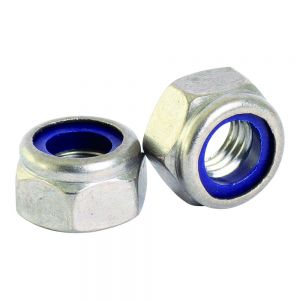 Stainless Steel Nylon Insert Nut