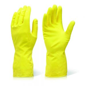 Yellow Household Gloves