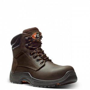 Brown Bison Safety Boots