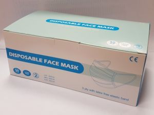 3 Ply Blue Medical Face Mask - Box of 50