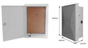 UK Standard Recessed Electrical Meter Box