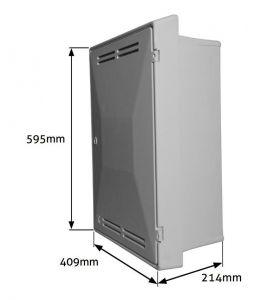 UK Standard Recessed Gas Meter Box