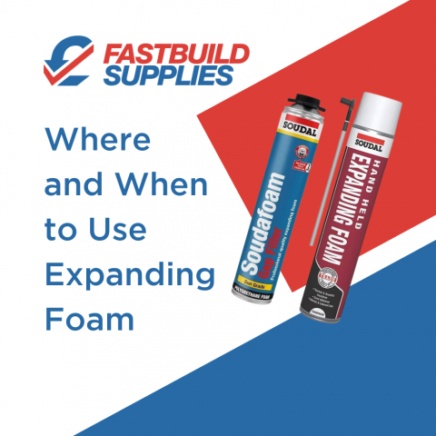 Where and When to Use Expanding Foam