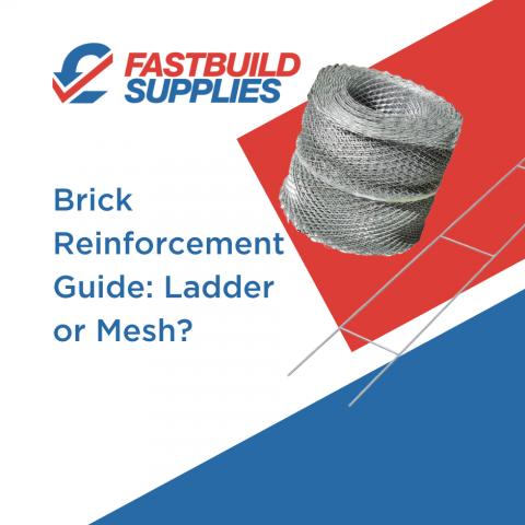 Brick Reinforcement Guide: Ladder or Mesh?