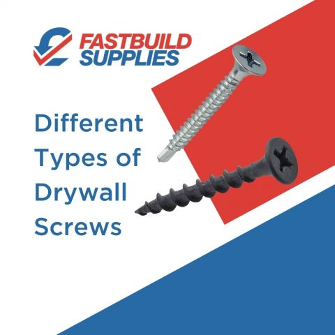Different Types of Drywall Screws