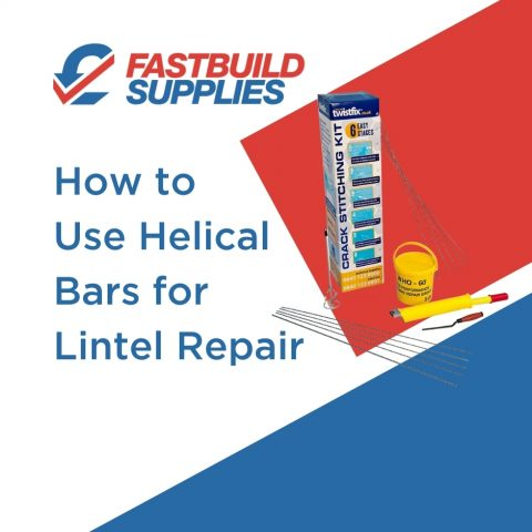 How to Use Helical Bars for Lintel Repair