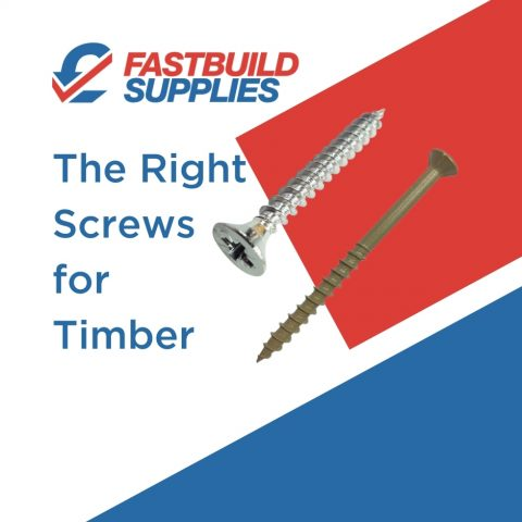 The Right Screws for Timber